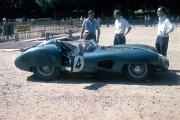 Scrutineering - #4 Aston Martin DBR 1/300 (Stirling Moss and Jack Fairman)