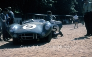 Scrutineering - #5 Aston Martin DBR 1/300 (Roy Salvadori and Carroll Shelby)
