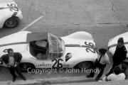 Qualifying - #26 Maserati Tipo 61 Birdcage (Giorgio Scarlatti and Gino Munaron)