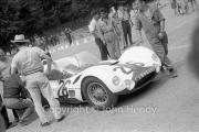 Scrutineering - #26 Maserati Tipo 61 (Birdcage) - Giorgio Scarlatti and Gino Munaron