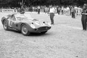 Scrutineering - #10 Works Ferrari 250 Testa Rossa (Willy Mairesse and Richie Ginther)