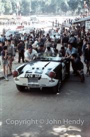 Scrutineering - #28 Triumph TR 4 S (Keith Ballisat/Marcel Becquart)