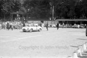 Scrutineering - #6 Jaguar E-Type 2A Prototype (Dan Gurney and Walt Hansgen)