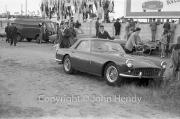 Ferrari 250GT in the car park