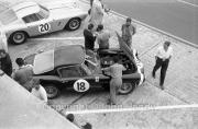 #18 Ferrari 250GT SWB, Graham Hill/Stirling Moss car
