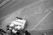 Aston Martin pit stop #1 Aston Martin DB4 GT Zagato (Jean Kerguen and Jacques Dewes)