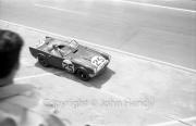 Triumph coming into the pits #25 Triumph TR4S (Marcel Becquart and Michael Rotschild)