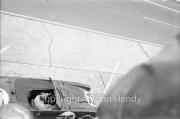 Triumph pit stop #25 Triumph TR4S (Marcel Becquart and Michael Rotschild), ready to go