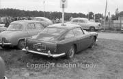 Aston Martin DB4 in the car park