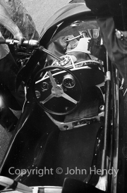 Formula 1 - Lola cockpit.