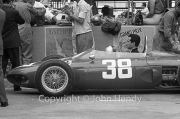 Formula 1 - #38 Ferrari 156 Sharknose (Lorenzo Bandini) in the pits