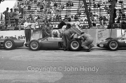 Formula 1 - Ferraris in the pits