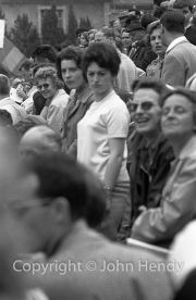 Ladies in the crowd