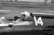 Formula 1 - #14 Cooper-Climax T14 (Bruce McLaren) celebrating with a bottle of Coke after winning