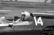 Formula 1 - #14 Cooper-Climax T14 (Bruce McLaren) celebrating with a bottle of Coke after winning