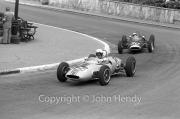 Formula Junior #124 Lotus 22 - Ford/Cosworth (Peter Ryan) and #90 Lotus 22 - Ford/Cosworth (Alan Rees)