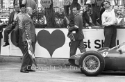 Louis Chiron (Clerk of the Course) in the pits