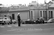 Formula Junior car on the road