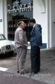 Jack Brabham and Reg Parnell