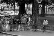 Spectators in Casino Square