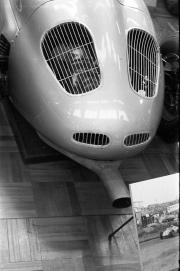 Rear of Porsche