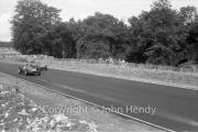 Formula 1 - #40 Ferrari Dino 246/60, Phil Hill and #42 Ferrari 246, Richie Ginther