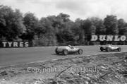 Formula 1 - #14 Cooper-Climax T51, Roy Salvadori. #46 JBW-Maserati, Brian Naylor
