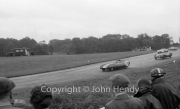 Television Trophy - 1500cc Sports Car Championship - #28 Lotus XI Climax, bored out to 1250cc. Mike Hawthorn