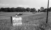Formula 3 - #2 Cooper Norton, Stuart Lewis-Evans. #6 Cooper Norton, George Wicken. #1 Cooper Mk IX Norton (Cooper Car Co), Jim Russell. #36 Cooper MK IX Norton, Ivor Bueb.