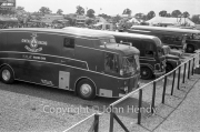 BRM transporter in the paddock