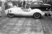 Sports cars - #24 Ecurie Ecosse Cooper Monaco Climax, Ron Flockhart
