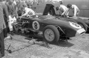 Stripped down #8 Lotus Climax, Jim Clark