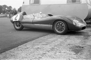 Sports cars - #2 Lola Mk.1 Climax, Peter Ashdown