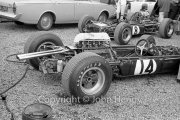 Formula 1 - #14 Brabham-Climax BT7 (Denny Hulme) and #8 Brabham-Climax (Jack Brabham)