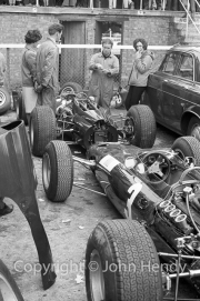 Formula 1 - #3 BRM P261 (Graham Hill) and #4 (Jackie Stewart)