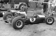 Formula 1 - #6 Lotus-Climax 33 (Mike Spence), engine exposed