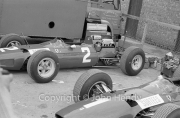 Formula 1 - #1 Ferrari 1512 (John Surtees) and #2 Ferrari 158 (Lorenzo Bandini)