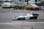 #4 Tyrell-Cosworth (Patrick Depailler) - the six-wheeler