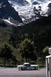 Alpine Rally - Triumph TR4 and La Meije