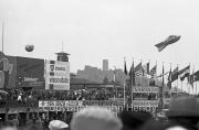 View of grandstands