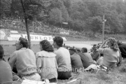 Crowd during the Formula Junior race