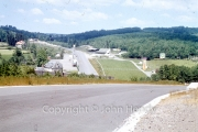 View back to the pits and Eau Rouge