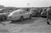 Aston Martin DB MK III in car park