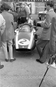 Formula 1 - #2 Cooper T45 Climax FPF (Bruce McLaren) in the paddock