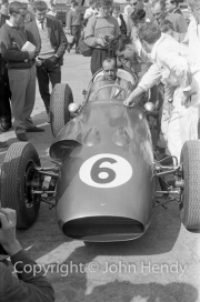 Formula 1 - #6 Maurice Trintignant in Aston Martin DBR4/250 (listed as Roy Salvadori's car, Trintignant was #7)