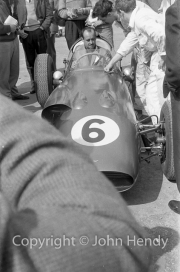Formula 1 - #6 Maurice Trintignant in Aston Martin DBR4/250 (listed as Roy Salvadori's car, Trintignant was #7)