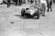 Formula 1 - #6 Aston Martin DBR4/250 (Roy Salvadori) in the paddock