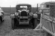 Unknown vintage car