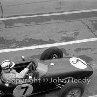 Formula 1 - #7 Lotus 18 Climax, Innes Ireland