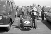 Formula 1 - #1 Cooper, Jack Branham, in the paddock